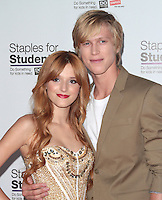UNIVERSAL CITY, CA - JULY 22: Bella Thorne and Tristan Klier at the 2012 Staples For Students 'Party' For A Cause hosted by Staples, DoSomething.org and Bella Thorne at the Globe Theatre at Universal Studios on July 22, 2012 in Universal City, California © mpi21/MediaPunch Inc. /NortePhoto.com*<br />