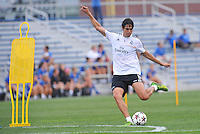 Saint Louis, MO August 1 2013<br /> Kaka.<br /> Real Madrid practiced at Herman Stadium on the campus of Saint Louis University ahead of their international friendly with Inter Milan at the Edward Jones Dome.