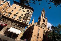 Spanien, Mallorca, Kirche Santa Eulalia in Palma de Mallorca