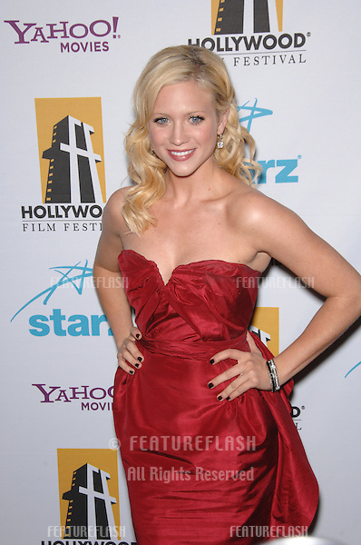 Brittany Snow at the Hollywood Film Festival's 11th Annual Hollywood Awards at the Beverly Hilton Hotel..October 23, 2007  Los Angeles, CA.Picture: Paul Smith / Featureflash