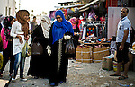 Tripoli - Libya - 11 October 2013 -- Women shoppers crowd the lanes of the Old City of Tripoli, a few days before the annual Muslim holiday of Eid. -- PHOTO: Iason ATHANASIADIS /  EUP-IMAGES