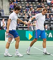 14-02-13, Tennis, Rotterdam, ABNAMROWTT, Thiemo de Bakker, Jesse Huta Galung - Mariusz Fyrstenberg, Marcin Matkowski