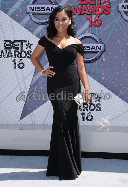 26 June 2016 - Los Angeles. Katlynn Simone. Arrivals for the 2016 BET Awards held at the Microsoft Theater. Photo Credit: Birdie Thompson/AdMedia