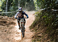 Picture by Alex Broadway/SWpix.com - 10/09/17 - Cycling - UCI 2017 Mountain Bike World Championships - Downhill - Cairns, Australia - Greg Williamson of Great Britain competes in the Men's Elite Downhill Final.