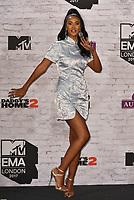 Maya Jama<br /> MTV EMA Awards 2017 in Wembley, London, England on November 12, 2017<br /> CAP/PL<br /> &copy;Phil Loftus/Capital Pictures