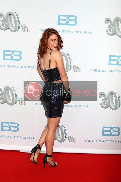 """Courtney Hope<br /> at the """"The Bold and The Beautiful"""" 30th Anniversary Party, Clifton's Downtown, Los Angeles, CA 03-18-17<br /> David Edwards/DailyCeleb.com 818-249-4998"""
