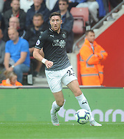 Burnley's Stephen Ward<br /> <br /> Photographer Kevin Barnes/CameraSport<br /> <br /> The Premier League - Southampton v Burnley - Sunday August 12th 2018 - St Mary's Stadium - Southampton<br /> <br /> World Copyright &copy; 2018 CameraSport. All rights reserved. 43 Linden Ave. Countesthorpe. Leicester. England. LE8 5PG - Tel: +44 (0) 116 277 4147 - admin@camerasport.com - www.camerasport.com