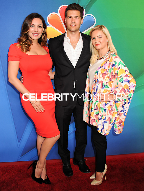 NEW YORK CITY, NY, USA - MAY 12: Kelly Brook, Nick Zano, Elisha Cuthbert at the 2014 NBC Upfront Presentation held at the Jacob K. Javits Convention Center on May 12, 2014 in New York City, New York, United States. (Photo by Celebrity Monitor)