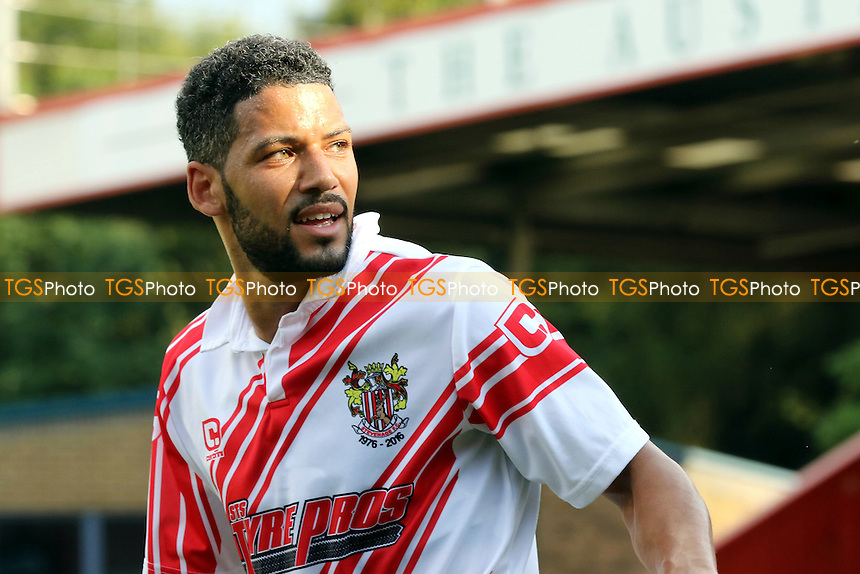 Jobi McAnuff of Stevenage during Stevenage vs Brighton and Hove Albion, Friendly Match Football at the Lamex Stadium on 23rd July 2016