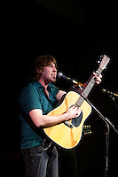 James McCann performing at the Winterlong Benefit Concert for the Sophia Mundie Steiner School, held at the Thornbury Theatre, 30 August 2009.