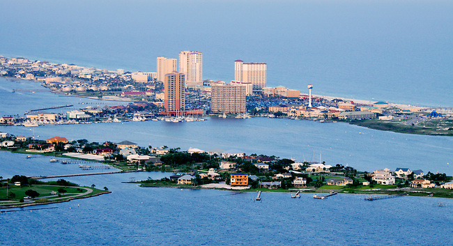 Aerial Photo of Pensacola Beach