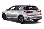 Car pictures of rear three quarter view of a 2018 Lexus CT Executive Line 5 Door Hatchback angular rear