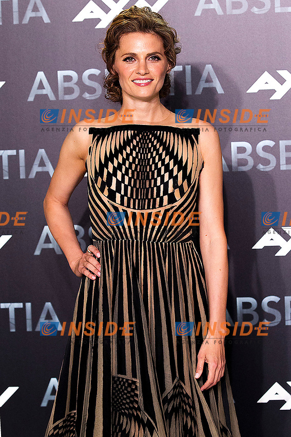 Stana Katic attends the photocall for 'Absentia' at El Beatriz Madrid Auditorium on March 20, 2019 in Madrid, Spain. (ALTERPHOTOS/Alconada)<br /> Foto Alterphotos / Insidefoto<br /> ITALY ONLY
