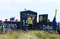 Andrea Pavan (ITA) on the 15th tee during the Pro-Am of the Irish Open at LaHinch Golf Club, LaHinch, Co. Clare on Wednesday 3rd July 2019.<br /> Picture:  Thos Caffrey / Golffile<br /> <br /> All photos usage must carry mandatory copyright credit (© Golffile | Thos Caffrey)