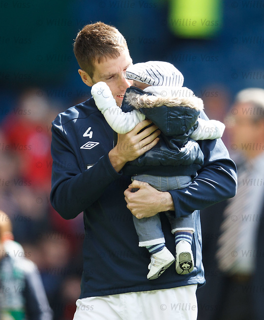 Kirk Broadfoot with junior