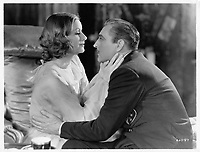 Grand Hotel (1932)<br /> John Barrymore and Greta Garbo <br /> *Filmstill - Editorial Use Only*<br /> CAP/MFS<br /> Image supplied by Capital Pictures