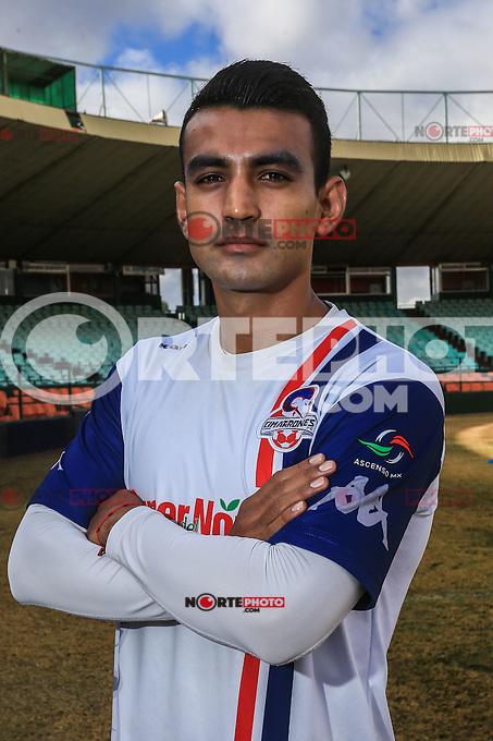 Humberto Hern&aacute;ndez<br /> ****<br /> Cimarrones de Sonora en el estadio H&eacute;ctor Espino, previo al inicio del torneo Clausura 2016 de Liga de Ascenso MX. **