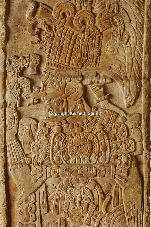 Maya Rise and Fall; Museo Nacional de Arquelogia y Ethnologia; Ministerio de Cultura y Deportes; Guatemala; Guatemala City; Stela; Machaquilla #7; Ancient Cultures; Maya; Mayan, Manikin Scepter
