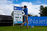 Daan Huizing (NED) in action during previews ahead of the Hauts de France-Pas de Calais Golf Open, Aa Saint-Omer GC, Saint- Omer, France. 12/06/2019<br /> Picture: Golffile | Phil Inglis<br /> <br /> <br /> All photo usage must carry mandatory copyright credit (© Golffile | Phil Inglis)