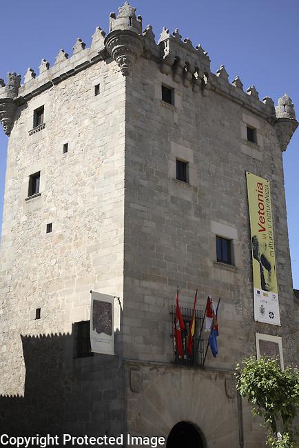 Guzmanes Tower, Plaza del Corral de las Campanas Square, Avila, Spain