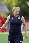 22 July 2009: Rachel Buehler (USA). The United States Women's National Team defeated the Canada Women's National Team 1-0 at Blackbaud Stadium in Charleston, South Carolina in an international friendly soccer match.