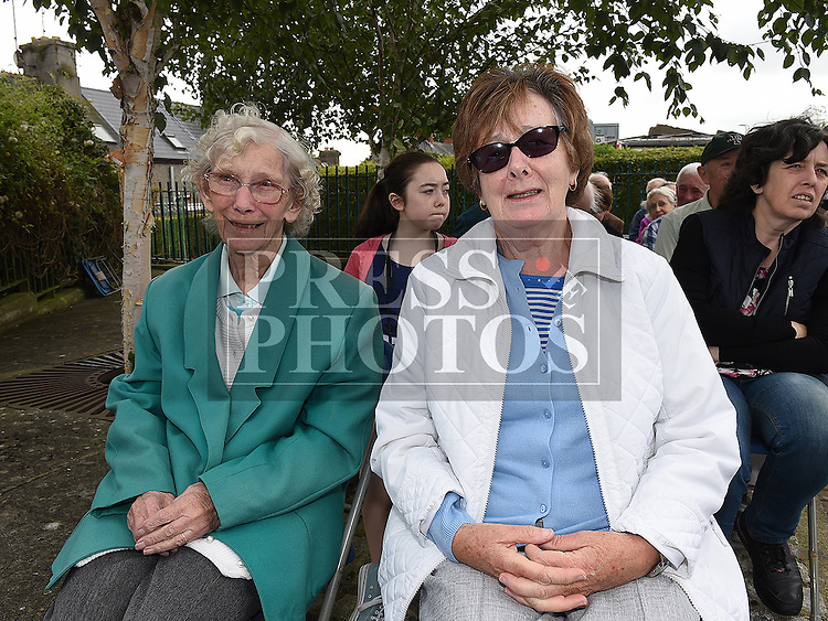 Miriam Owens and Rosemary Reilly at the mass for the Domicians at Magadelene Tower. Photo:Colin Bell/pressphotos.ie