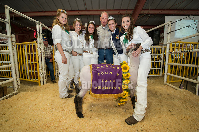74th Amador County Fair, Plymouth, Calif...Junior Livestock Auction--Sheep