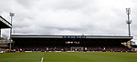 Sheffield Utd fans fill the whole of one end during the English League One match at Vale Park Stadium, Port Vale. Picture date: April 14th 2017. Pic credit should read: Simon Bellis/Sportimage