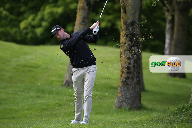 Bjorn Akesson (SWE) playing down the 4th during Round One of the 2016 Dubai Duty Free Irish Open Hosted by The Rory Foundation which is played at the K Club Golf Resort, Straffan, Co. Kildare, Ireland. 19/05/2016. Picture Golffile | David Lloyd.<br /> <br /> All photo usage must display a mandatory copyright credit as: &copy; Golffile | David Lloyd.