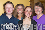 CEILI?: Dancing the night away at the Shindig Festival Weekend Ceili? Dancing in the Brandon Hotel, Tralee on Friday night were: Milla O'Donnell, Catherine Merrigan (Dingle), Katie Wright (Kilflynn) and Barbara Prendergast (Dingle).   Copyright Kerry's Eye 2008