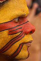 XI Jogos indígenas.<br /> Porto Nacional, Tocantins, Brasil.<br /> Foto Paulo Santos.<br /> 08/11/2011