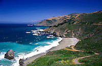 USA, California, Big Sur coastline