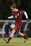 25 November 2012: FDU's Anders Vest-Hansen (DAN). The University of North Carolina Tar Heels played the Farleigh Dickinson Knights at Fetzer Field in Chapel Hill, North Carolina in a 2012 NCAA Division I Men's Soccer Tournament third round game. UNC won the game 1-0 in overtime.