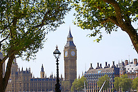 Big Ben and the Houses of Parliament - London