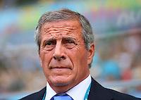 Uruguay coach Oscar Tabarez
