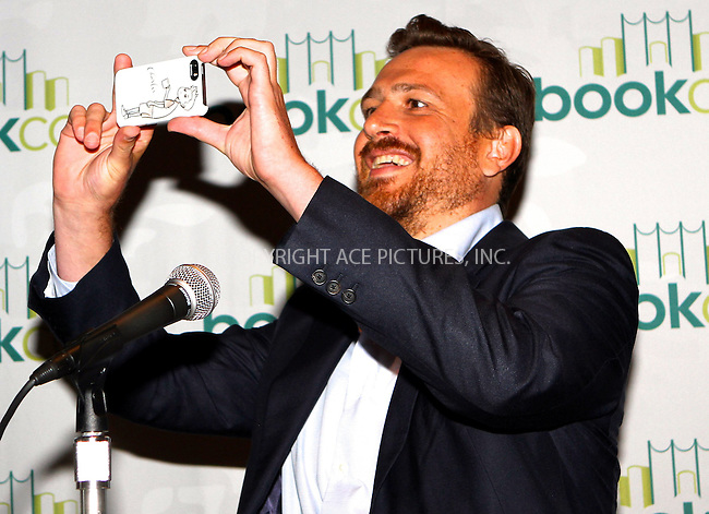 ACEPIXS.COM<br /> <br /> May 31 2014, New York City<br /> <br /> Actor/author Jason Segel at the 2014 Bookexpo America at The Jacob K. Javits Convention Center on May 31, 2014 in New York City.<br /> <br /> <br /> By Line: Nancy Rivera/ACE Pictures<br /> <br /> ACE Pictures, Inc.<br /> www.acepixs.com<br /> Email: info@acepixs.com<br /> Tel: 646 769 0430