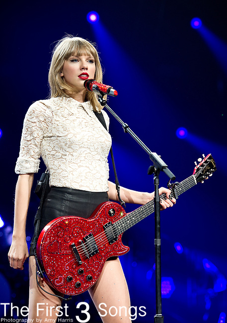 Taylor Swift performs at Nationwide Arena in Columbus, Ohio.