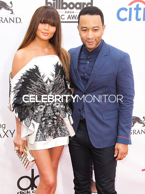 LAS VEGAS, NV, USA - MAY 18: Chrissy Teigen, John Legend at the Billboard Music Awards 2014 held at the MGM Grand Garden Arena on May 18, 2014 in Las Vegas, Nevada, United States. (Photo by Xavier Collin/Celebrity Monitor)