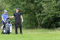 Scott Henry (SCO) in the trees off the 17th tee during Sunday's Final Round of the Northern Ireland Open 2018 presented by Modest Golf held at Galgorm Castle Golf Club, Ballymena, Northern Ireland. 19th August 2018.<br /> Picture: Eoin Clarke | Golffile<br /> <br /> <br /> All photos usage must carry mandatory copyright credit (&copy; Golffile | Eoin Clarke)