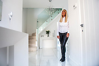 "COPY BY TOM BEDFORD<br /> Pictured: Claire Dix in her hallway<br /> Re: A home-loving mum is looking forward to a bright 2017 - everything she owns is white.  <br /> Claire Dix, 51, lives in white house where all the inside walls, floors and ceilings are white.<br /> Her furniture is white, her sheets and towels are white - even her Persian cat Mr Darcy is white.<br /> She drives a white Porsche sports car and the other family car is - you've guessed, it white.<br /> And to keep her home spotless she even has a white, limited-edition Dyson cleaner.<br /> Claire said: ""It's not an obsession, just a matter of style - I happen to like white."
