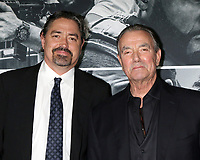 "LOS ANGELES - JAN 17:  Christian Gudegast, Eric Braeden at the ""Den of Thieves"" Premiere at Regal LA Live Theaters on January 17, 2018 in Los Angeles, CA"