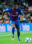 Nelson Cabral Semedo of FC Barcelona in action during the La Liga match between FC Barcelona vs RCD Espanyol at the Camp Nou on 09 September 2017 in Barcelona, Spain. Photo by Vicens Gimenez / Power Sport Images