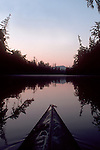 Sea kayak, Chehalis Surge Plain, Chehalis River, Grays Harbor, Washington State, Pacific Northwest, USA