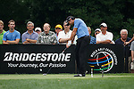 Jason Day (AUS) teeing off from on the 14th on day 1 of the World Golf Championship Bridgestone Invitational, from Firestone Country Club, Akron, Ohio. 4/8/11.Picture Fran Caffrey www.golffile.ie