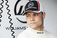Williams Finnish Third driver Valterrri Bottas.24/03/2012 Grand Prix Malesia, Sepang , Essais..Foto Insidefoto  /Bernard Asset / Panoramic.ITALY ONLY..
