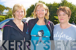 Pictured at the Killarney Legion walk in Muckross on Saturday were Louise Moriarty, Mary Brennan and Sheila O'Mahony...