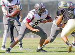 Palos Verdes, CA 09/16/16 - Ryan Locano (Torrance #72) in action during the Torrance - Palos Verdes Peninsula CIF Varsity football game.