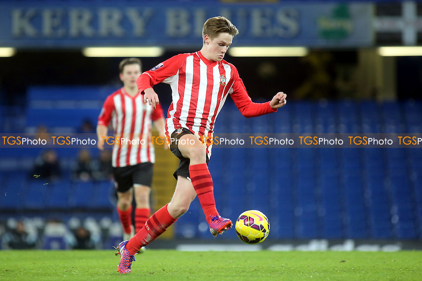 Armani Little of Southampton in action - Chelsea Under-21 vs Southampton Under-21 - Barclays Under-21 Premier League Football at Stamford Bridge, Chelsea FC, London - 02/02/15 - MANDATORY CREDIT: Paul Dennis/TGSPHOTO - Self billing applies where appropriate - contact@tgsphoto.co.uk - NO UNPAID USE