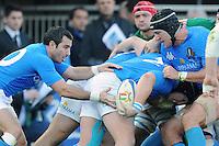 Burton, dellape,Sole<br /> Italia vs Irlanda<br /> Six Nations Rugby<br /> Stadio Flaminio, Roma, 05/02/2011<br /> Photo Antonietta Baldassarre Insidefoto