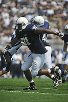 03 September 2011:  Penn State DT Devon Still (71)..The Penn State Nittany Lions defeated the Indiana State Sycamores 41-7 at Beaver Stadium in State College, PA..